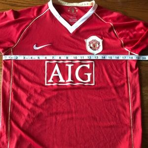 f21b8ee2bc0 Nike Shirts   Tops - Manchester United Nike 06 07 Soccer Jersey